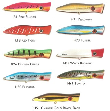 halco roosta popper  fishing lures